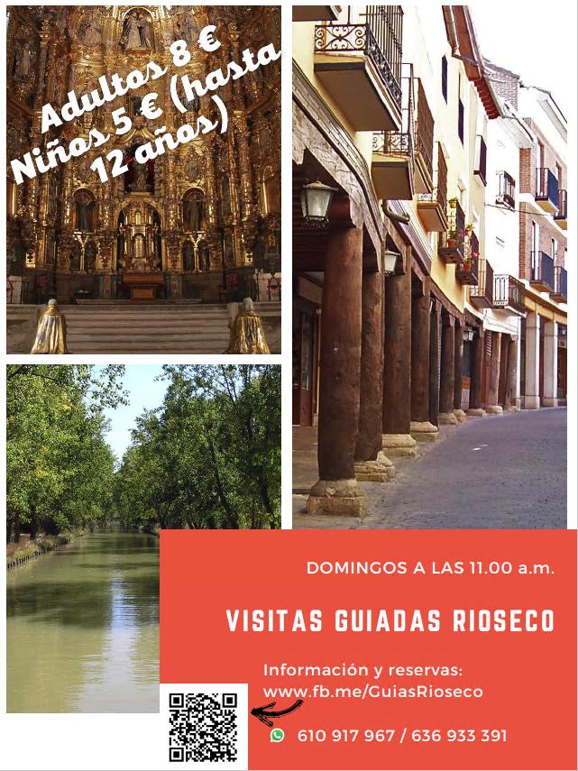 Cartel Visitas Guiadas en Medina de Rioseco