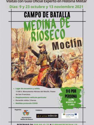Cartel visitas guiadas Moclín